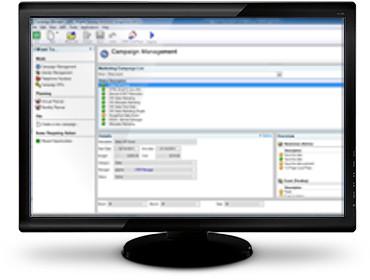 Interface du logiciel CDK