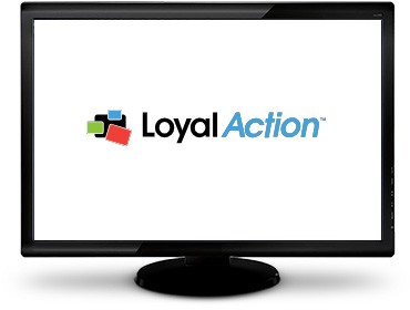 Interface du logiciel LoyalAction